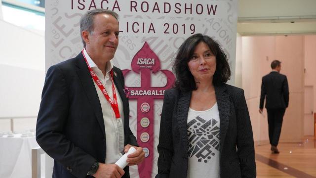 Momento do I congreso de ISACA.