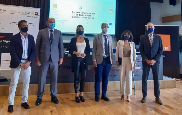 La apuesta de la Xunta por el 5G hace que el puerto de Vigo acoja las primeras pruebas para la aplicación de esta tecnología a la vigilancia y seguridad de las instalaciones portuarias españolas