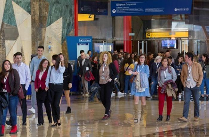 Personas durante III Congreso de Tecnología y Turismo.