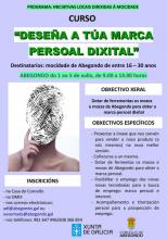 Cartel do curso.