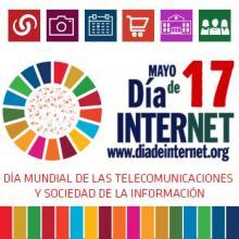 Logo Día mundial de Internet.
