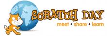 Logo do Scratch Day.