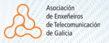 Logo Asociación de Enxeneiros de Telecomunicación de Galicia