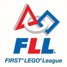 Logo First Lego League.