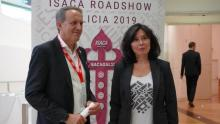 Momento do I congreso de ISACA.