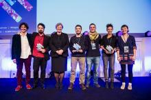 Gañadores do Concurso Europeo de Innovación Social 2016.