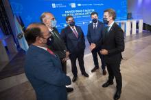 Reunión do acordo de impartición dos títulos interuniversitarios de Grao e Máster en Intelixencia Artificial.