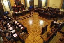 Sesión de plenos do Concello da Coruña.