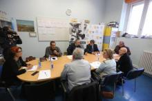 Reunión de membros da Fundación TIC