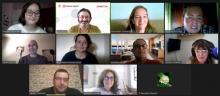Videoconferencia de 'Por Talento Dixital'.
