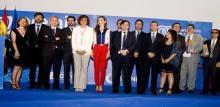 Presentación dos premios.
