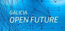 Cartel do Galicia Open Future.