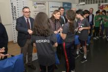 Entrega de premios de la fase local de la II Olimpiada de Ingeniería de Caminos, Canales y Puertos.
