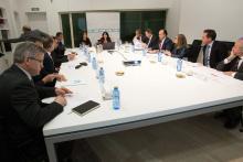 Reunión do pacto dixital.