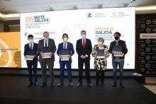 Premiados en la XXV Noche Gallega de las Telecomunicaciones.
