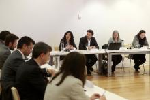 Reunión de trabajo con las empresas firmantes del Pacto Digital de Galicia.