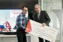 Entrega de premios de Vodafone Connecting for Good.