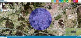 Ferramenta dixital que permite medir e comprobar a lonxitude dos desprazamentos.