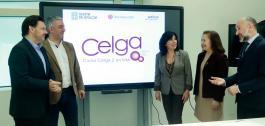 Presentación do curso de Celga 2 en teleformación.