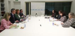 Reunión do grupo de traballo integrado por representantes da Xunta e do Ministerio de Xustiza.