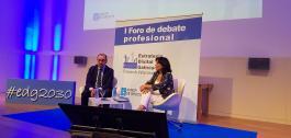 Momento da segunda xornada para a elaboración da Estratexia Dixital de Galicia 2030.