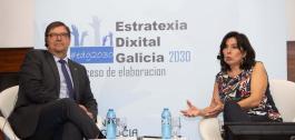 Momento da cuarta xornada para a elaboración da Estratexia Dixital de Galicia 2030.