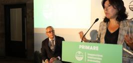 Momento da intervención de Mar Pereira na primeira xornada de Primare Demo Days.