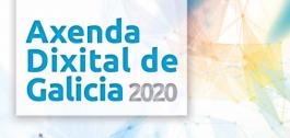 Portada da Axenda Dixital de Galicia 2020.
