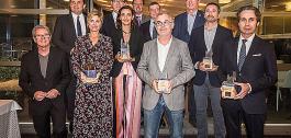 Entrega dos Premios Digital Tourist 2019.