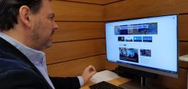 GaliciaAberta, o portal web da Secretaría Xeral da Emigración.