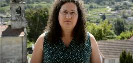 A galardoada Guadalupe Ordóñez Torres.