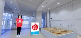 Recreación virtual en 360 graos do Museo Gaiás.