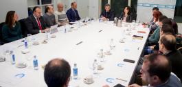 Reunión do grupo de traballo de contidos educativos dixitais de Abalar.