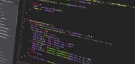 Código fonte nun monitor.
