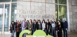 Participantes no coworking de Santiago de Compostela.