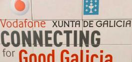 'Vodafone Connecting for Good Galicia'.