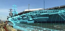 Duplicado virtual dun barco.