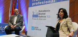 Momento da primeira xornada para a elaboración da Estratexia Dixital de Galicia 2030.