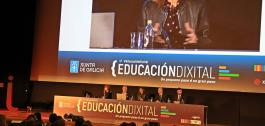 A conselleira de Educación participou na apertura da xornada 'Educación Dixital'.