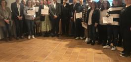 Foto dos participantes na formación.