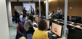 O delegado territorial, José Manuel Balseiro, participou na inauguración dun curso de formación ao persoal dos servizos sociais municipais.