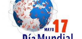 Logo do Día Mundial de Internet.