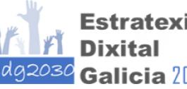 Logo Estratexia Dixital Galicia 2030.