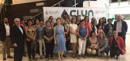 Participantes na xornada Mulleres de SEU.