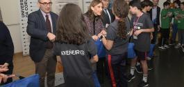 Entrega de premios da fase local da II Olimpíada de Enxeñería de Camiños, Canais e Portos.