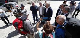 Presentación da licitación en Portomarín.