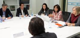 Xuntanza de traballo con representantes da FEGAMP.