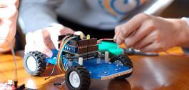 Construción dun robot.