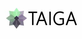 Logo de Taiga.