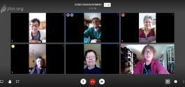 Videoconferencia das usuarias da aula CeMIT de San Sadurniño.